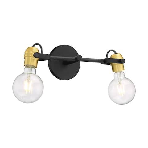 "Nuvo Lighting 60/6982 Mantra 2 Light 15"" Wide Bathroom Vanity Light"