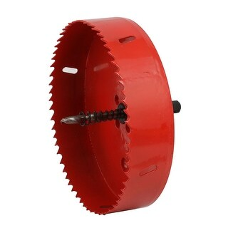145mm Cutting Diameter Triangle Shank Spring Loaded Toothed Bi-Metal Hole Saw