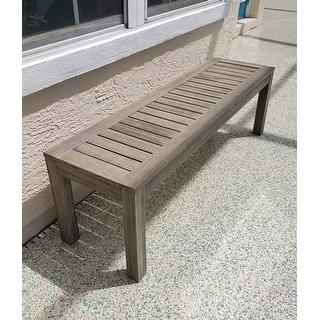 Surfside Outdoor Backless Bench by Havenside Home