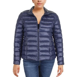 Aqua Womens Puffer Coat Winter Down