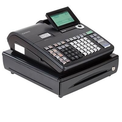 Casio Pcr-T500 10-Line Electronic Cash Register Cash Register With Lcd Display