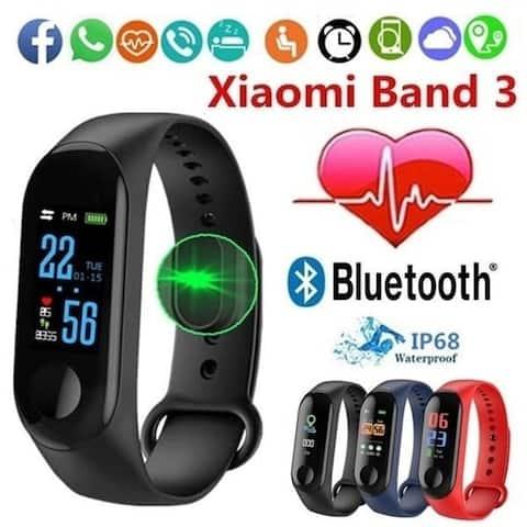 Mi Band 3 Sport Heart Rate Monitor Fitness Tracker Smart Bracelet