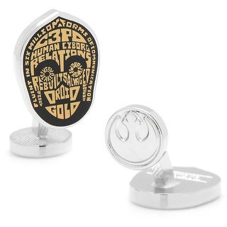 C3PO Typography Cufflinks