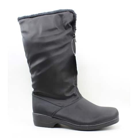 Tundra Womens Alice Black Snow Boots Size 10