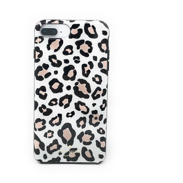 76c7a5b1fa9a kate spade New York Leopard Print Protective Rubber Case For iPhone 8 Plus/ iPhone 7
