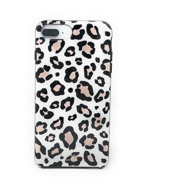 premium selection 4b481 744e3 Shop kate spade New York Leopard Print Protective Rubber Case For ...