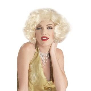 Marilyn Monroe Sexy Wig - White