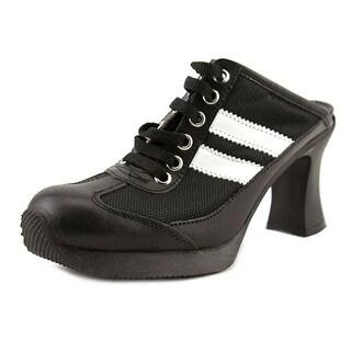 No Box Doctor   Open Toe Leather  Platform Heel