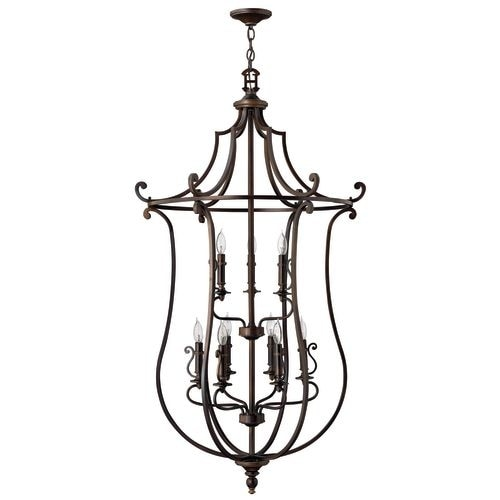 Hinkley Lighting 4259 9 Light 2 Tier Candle Style Chandelier From The Plymouth Collection Free Shipping Today 19715051