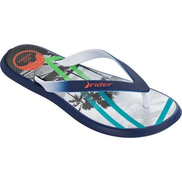 88b01b2a504 Shop Rider Men s R1 Energy VI Thong Sandal Blue White - On Sale - Free  Shipping On Orders Over  45 - Overstock - 14667530