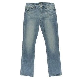 Lucky Brand Womens Brooke Mid-Rise Light Wash Bootcut Jeans
