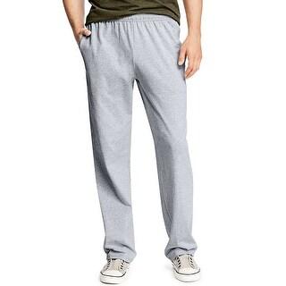 Hanes X-Temp® Men's Jersey Pocket Pant - Size - M - Color - Light Steel