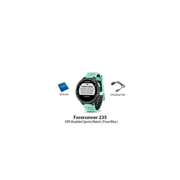 Shop Refurbished Garmin Forerunner 235 GPS Running Watch