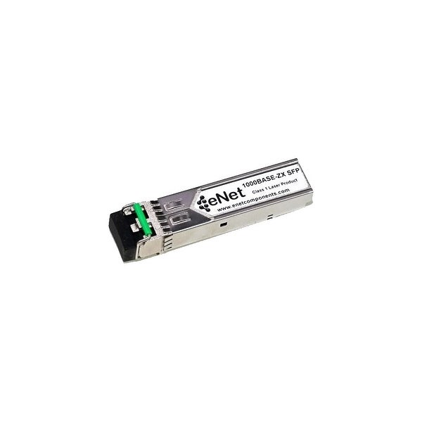 ENET 10053-ENC Extreme Compatible 10053 1000BASE-ZX SFP 1550nm 80km DOM Duplex LC SMF 100% Tested Lifetime Warranty and