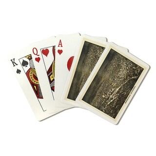 Minneapolis, Minnesota - (1885) - Panoramic Map (Playing Card Deck - 52 Card Poker Size with Jokers)