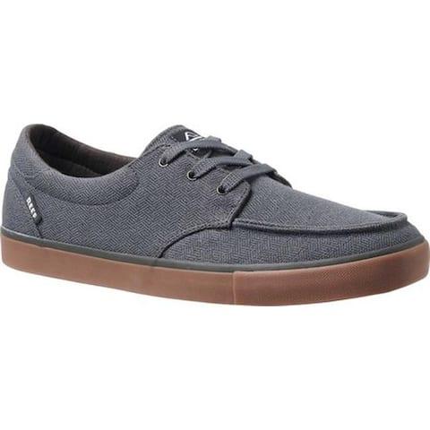 Reef Men's Deckhand 3 TX Sneaker Grey/Gum Cotton