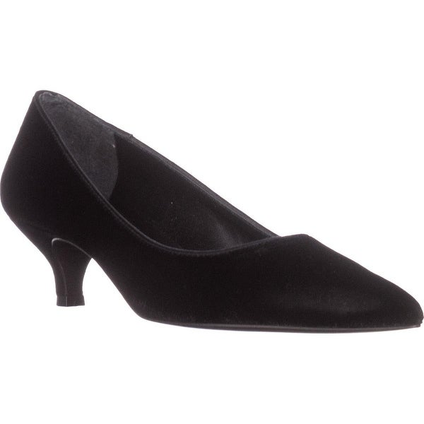 Lauren Ralph Lauren Abbot Dress Pumps, Black Velvet