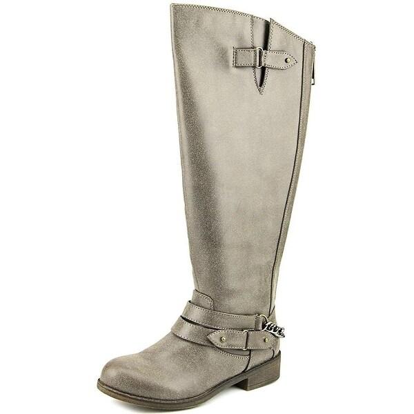 7913cd14e2e Shop Madden Girl Womens Canyon Almond Toe Knee High Fashion Boots ...