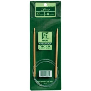 "Takumi Bamboo Circular Knitting Needles 29""-Size 4/3.5mm"