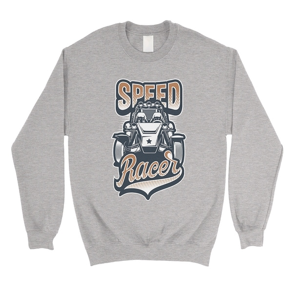 Shop Speed Racer Unisex Grey Crewneck Sweatshirt Car