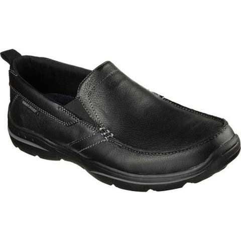 Skechers Men's Relaxed Fit Harper Forde Loafer Black