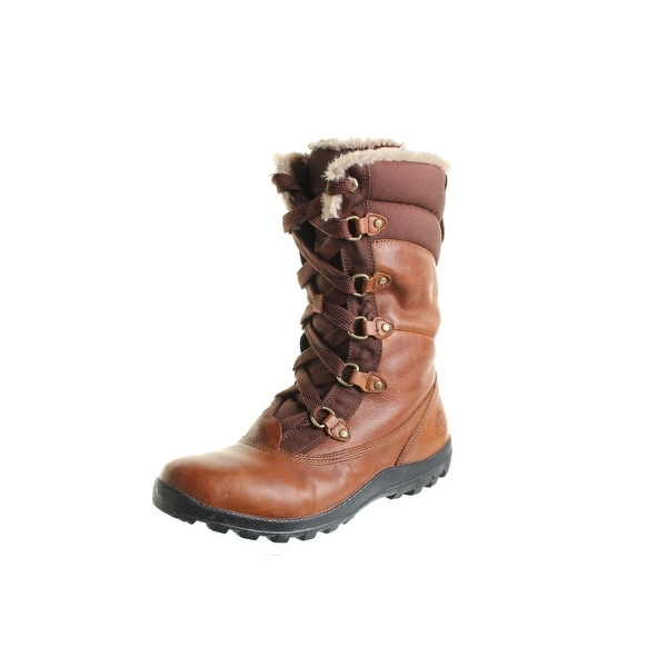 Timberland Womens Mount Hope Winter Boots Leather Waterproof