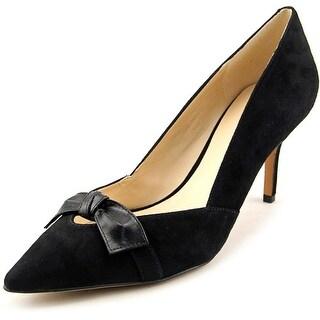 Nine West Kelda Women  Pointed Toe Suede Black Heels