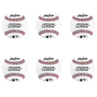 Rawlings OLB3 Official League Recreational Play Baseball (Set of 6)