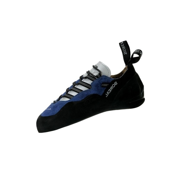 Boreal Climbing Shoes Mens Lightweight Spider Leather Black Blue