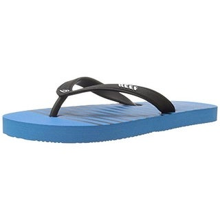 Reef Boys Grom Switchfoot Flip-Flops Striped Thong
