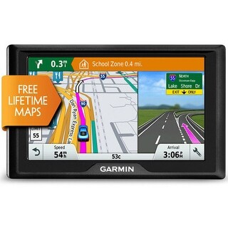 "Garmin Drive 50LM GPS Navigator That Features a 5"" HD Touchscreen Display Maps of US & Canada"