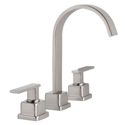 Miseno ML441 Elysa-R Widespread Bathroom Faucet - Includes Lifetime Warranty and Push Drain Assembly