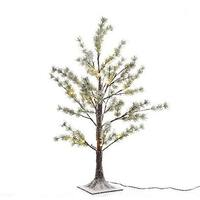 LED Snow Pine Twig Tree