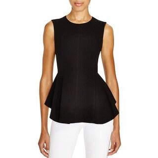 Theory Womens Kalsing Tunic Top Full Hidden Back Zipper Lined