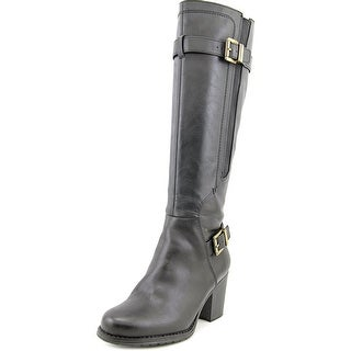 Naturalizer Tricia Wide Calf Women Round Toe Synthetic Knee High Boot