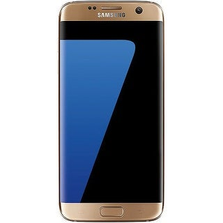 Samsung Galaxy S7 Edge G935V 32GB Verizon CDMA LTE Quad-Core Phone w/ 12MP Camera (Certified Refurbished) - Gold