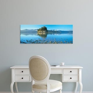 Easy Art Prints Panoramic Images's 'Marlborough Sound, New Zealand' Premium Canvas Art