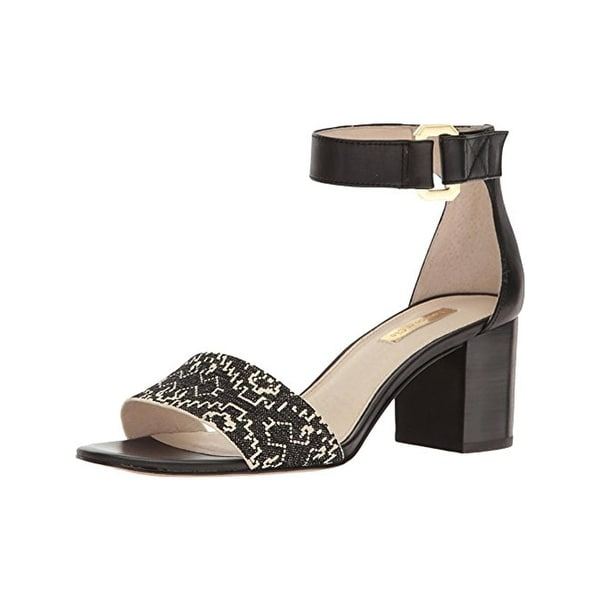 Louise Et Cie Womens Kambria Dress Sandals Block Heel Pattern