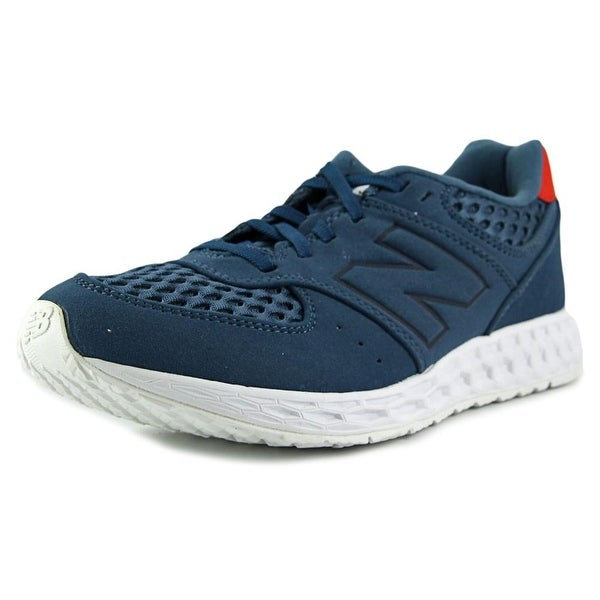 New Balance MFL574 Men Round Toe Synthetic Blue Running Shoe