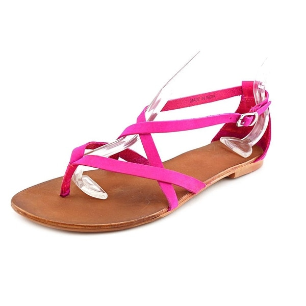 Matisse Ella Women Open-Toe Leather Slingback Sandal