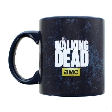 The Walking Dead Insane World 20oz Ceramic Coffee Mug - Black