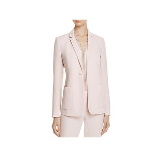 Elie Tahari Womens Wendy Suit Jacket One-Button Long Sleeve