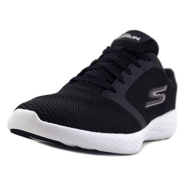 Skechers Go Run 600 Refine Women Round Toe Canvas Sneakers