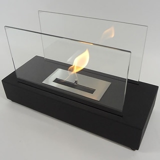 Nu-Flame NF-T1INO INCENDIO Tabletop Portable Ethanol Fireplace - Black
