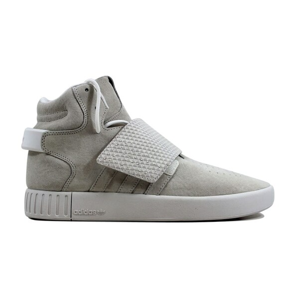 Shop Adidas Tubular Invader Strap Flat WhiteFlat White