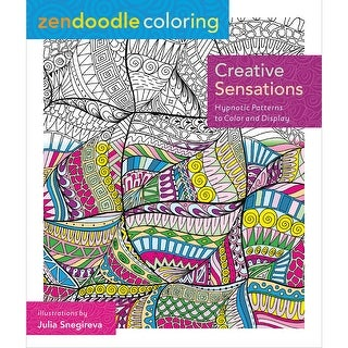 St. Martin's Books-Zendoodle Coloring: Creative Sensations