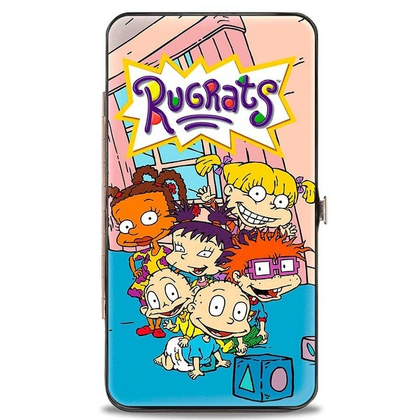 Rugrats Group Pose Hinged Wallet - One Size Fits most