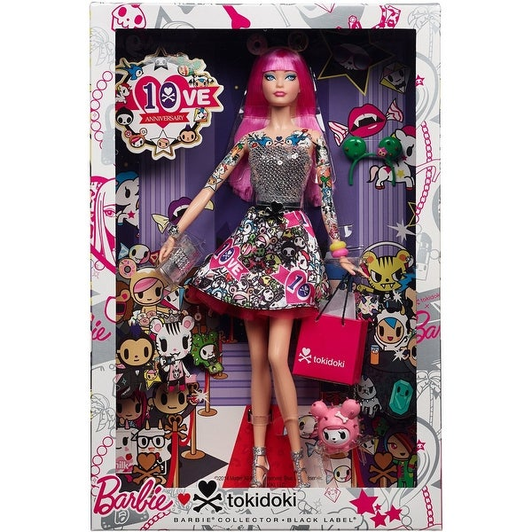 Barbie Collector 10th Anniversary Tokidoki Barbie Doll - multi