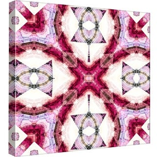 """PTM Images 9-97658  PTM Canvas Collection 12"""" x 12"""" - """"Magenta 3"""" Giclee Abstract Art Print on Canvas"""