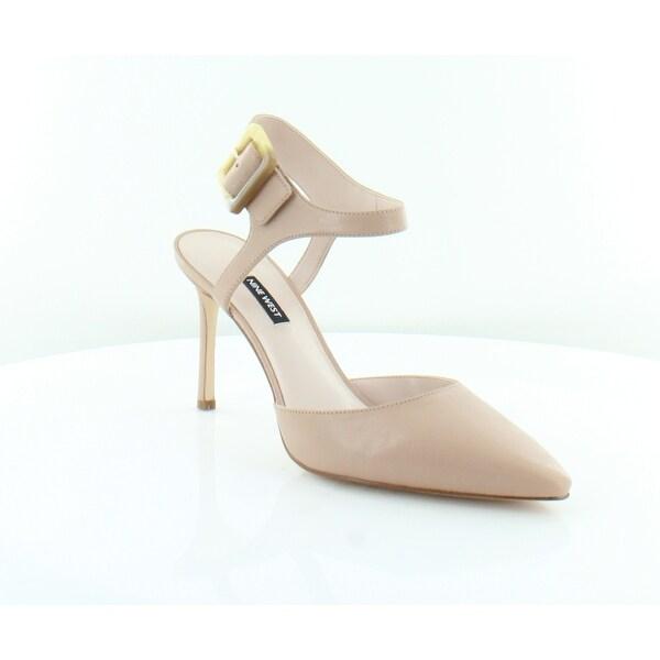 abadca272a2 Shop Nine West Elisabeti Women s Heels LT NATUR L - 11 - Free ...
